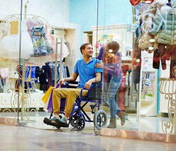 disabled shopper